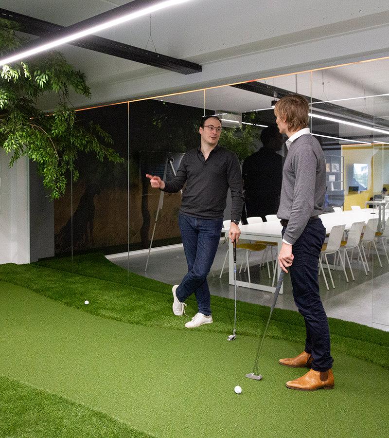 Advies golf