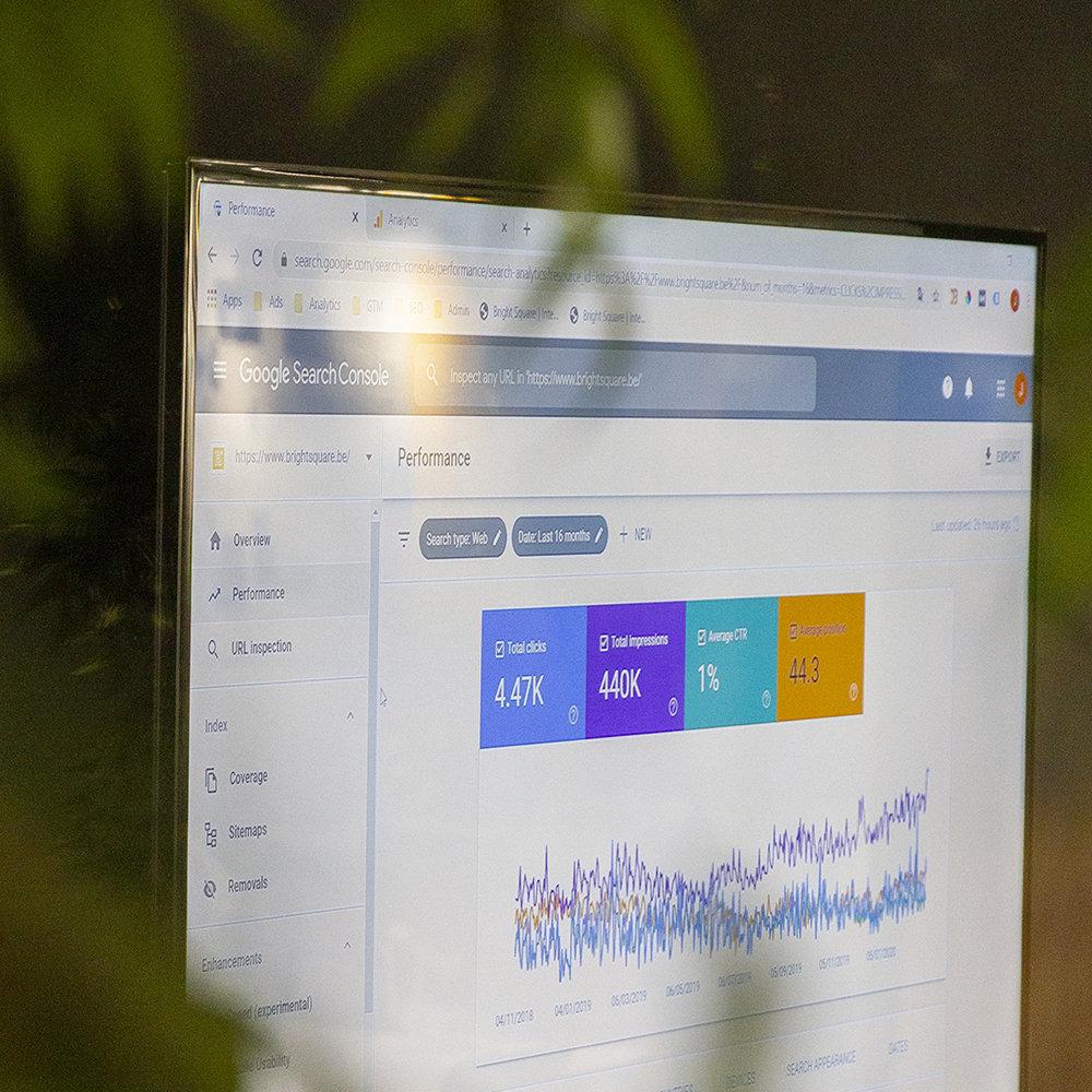 Online marketing Google ads