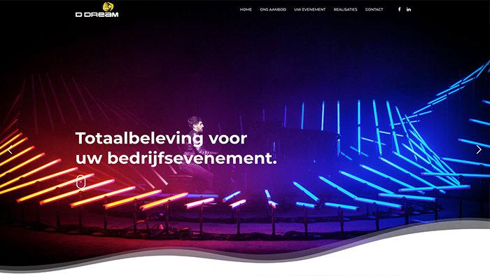 Webdesign bureau Antwerpen D Dream