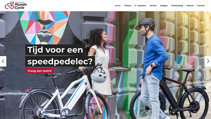 Webdesigner Antwerpen Mundo Cyclo