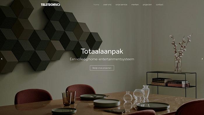 Webdesign bureau Brasschaat Teletechnics