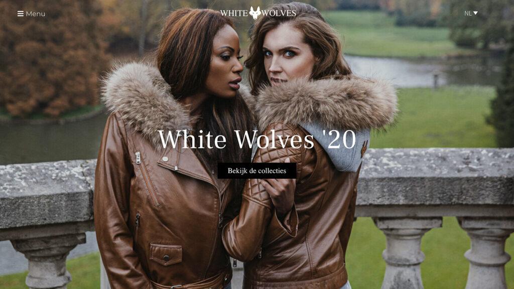 Webdesign bureau White Wolves designerbrand